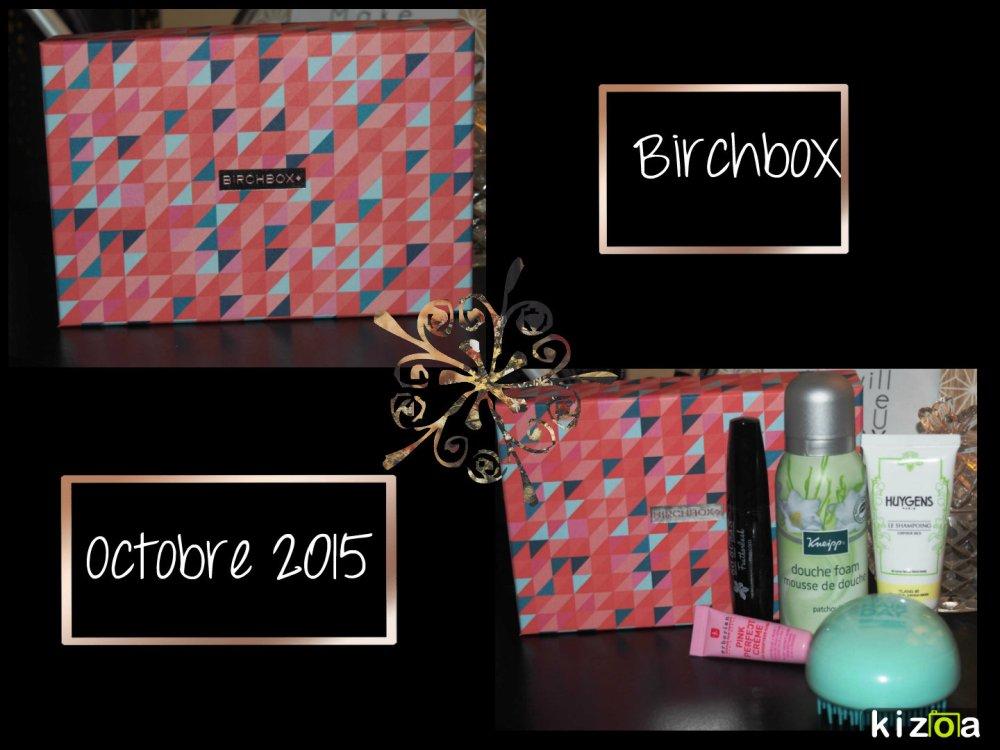 Birchbox octobre 2015
