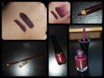 Asian Touch Lip Pencil + Asian Touch Matte Liquid Lipstick 02 Silky Burgundy