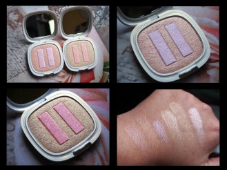 Natural Colour Highlighter 01 Iridescent Rose/02 Iridescent Champagne