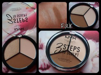 3 STEPS TO SCULPT FACE SCULPTING PALETTE FAIR